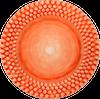Mateus- Bubble Plate 28cm - mateus bubble plate 28 orange