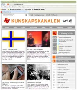 Maria och Angelika Langen på tv-tablån, Kunskapskanalen