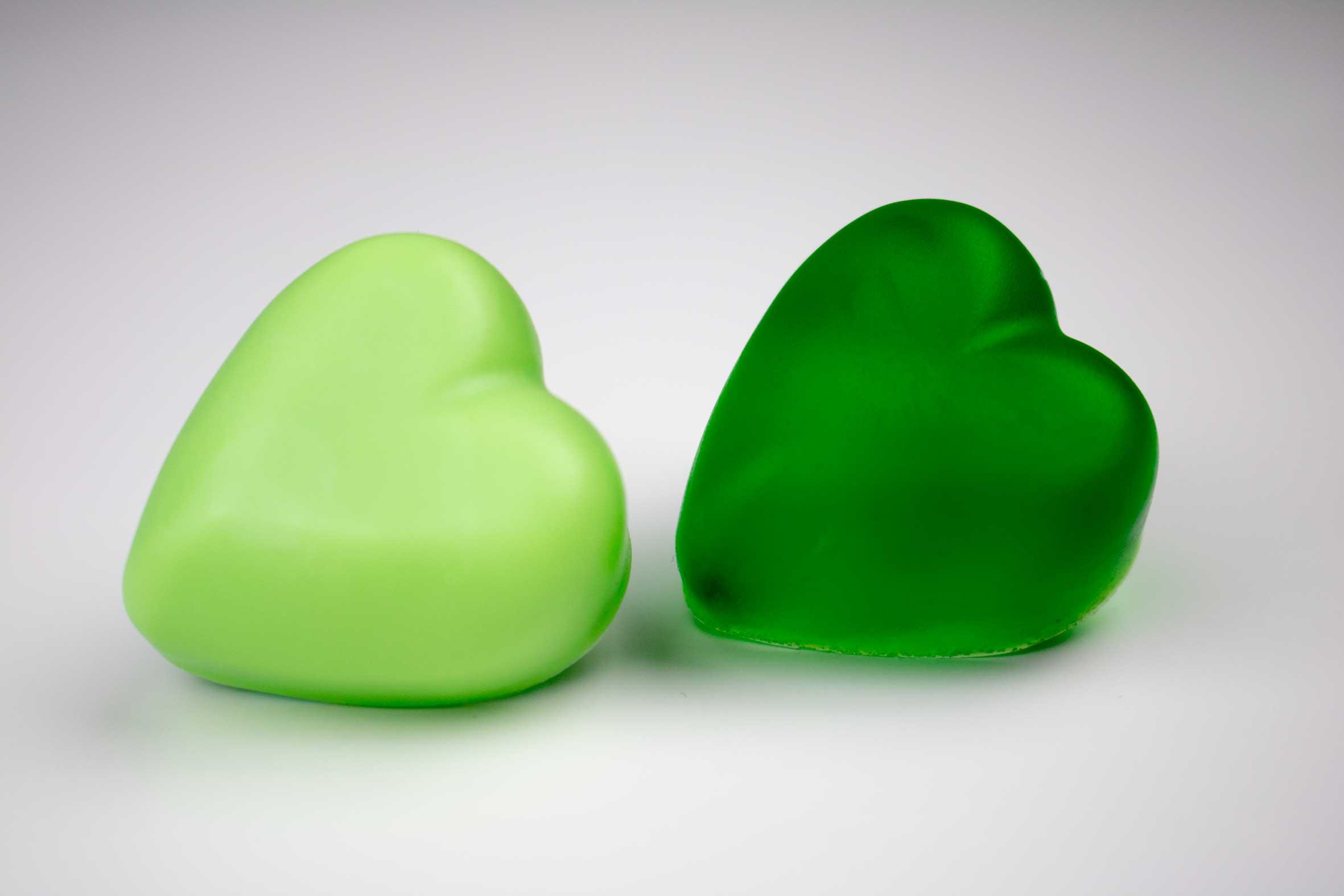 Grön tvålfärg