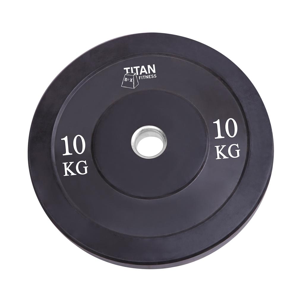 Titan Bumber Plates 10kg_Black_1
