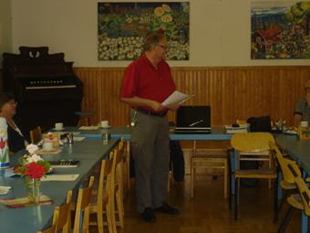 Vår lärare Lennart Bertilsson