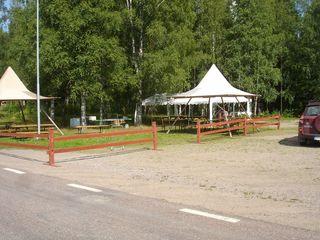 Serveringstält Dan Andersson dagen