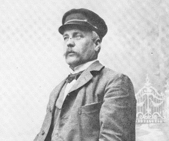PW Andersson. Fotot, beskuret, tillhör Hembygdsmuséet.