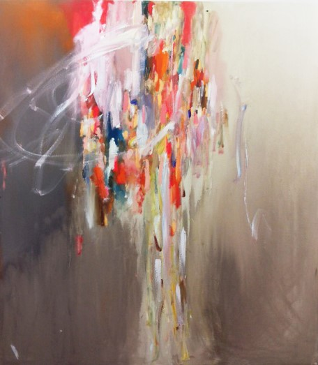 Waterfall, 2014, acrylic on canvas, 153 x 137 cm SOLD