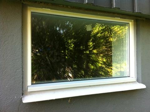 Montera pvc fönster utan karmskruv