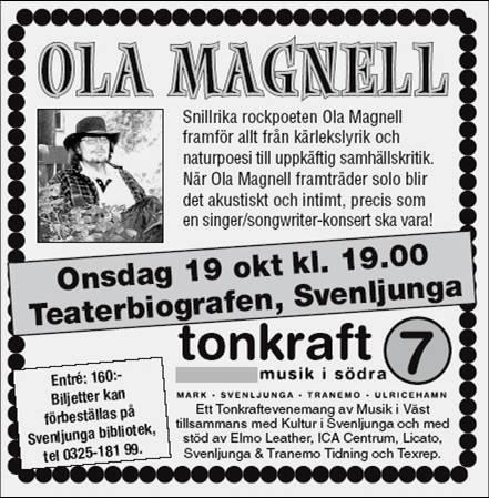 Teaterbiografen Svenljunga 2005