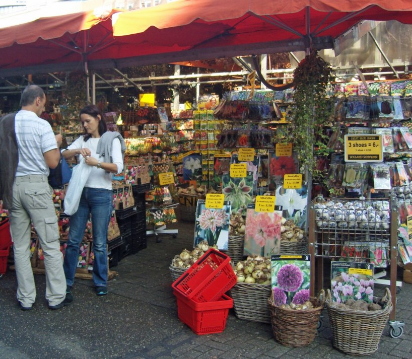 Olika typer av blomstermarknader