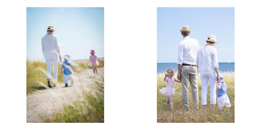Familjefotografering på Österlen