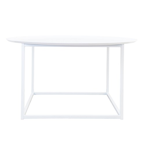 Domo round square table Vit