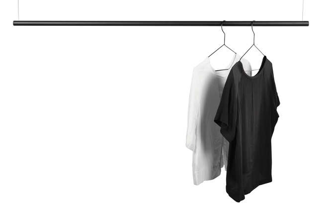 Domo cloth rack Svart