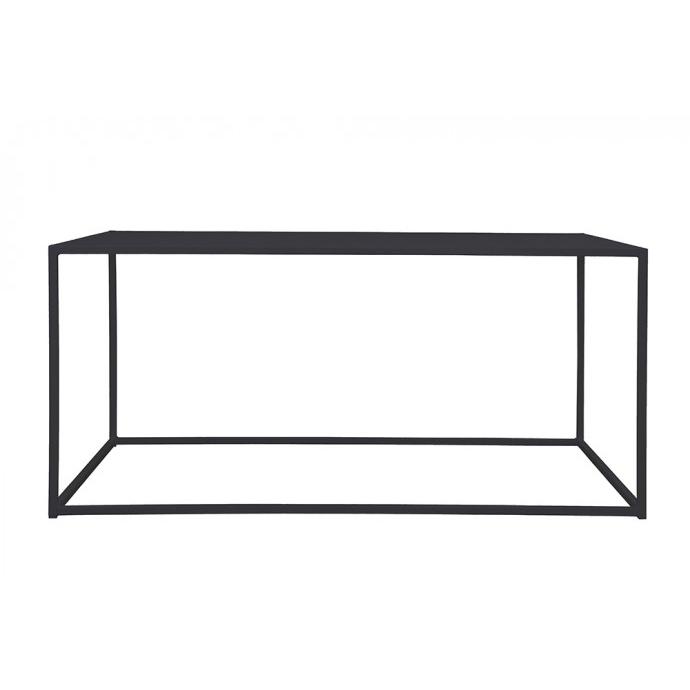 Domo rectangle table Black