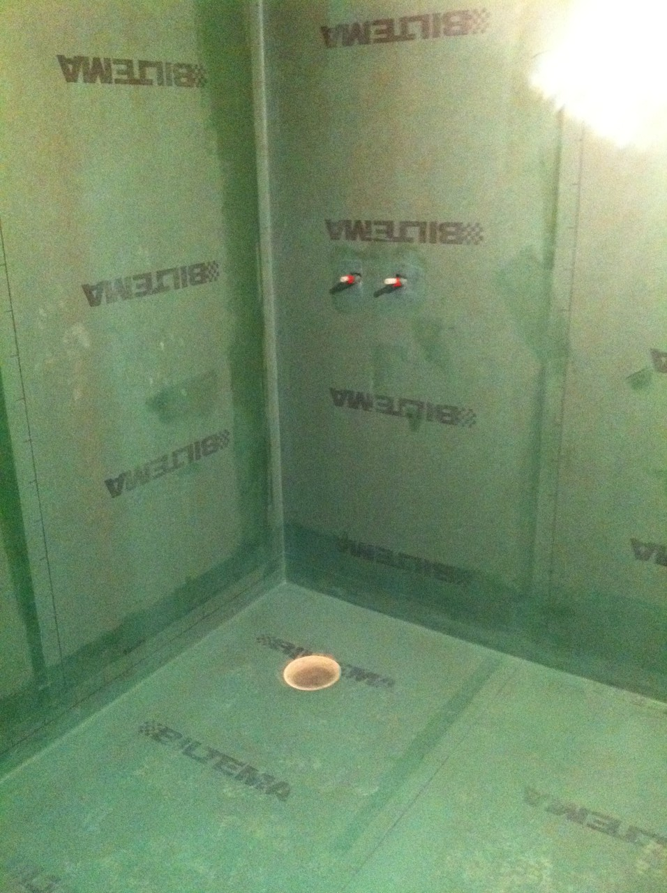 Tätskikt badrum