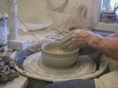 Skottorps Stengods, a cheramic workshop in Skottorp, day 1.