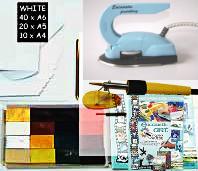 Encaustic Art - Färgdrömmarens Startset L (Beställningsvara)