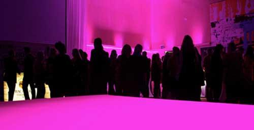 LED tejp effekt