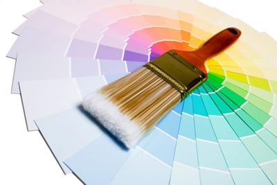 målare, hus och måleri