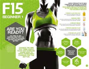 Forever Living F15 - 15 dagars Fitnessprogram (92:-/dag) - F15 Beginner 1 & 2 - Vanilj