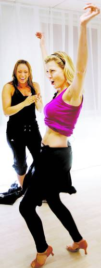 AFTONBLADET, Mi Ridell får coachning inför Let's Dance