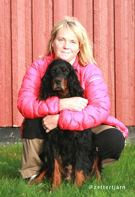 Här jag och Bleika vunnit Fjäll-SM 2012