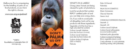 Avoid palm oil, and remember they try confusing the consumer by having many names for it...