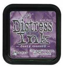 Distress ink dusty concord