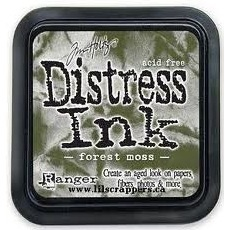 Distress ink forrest moss