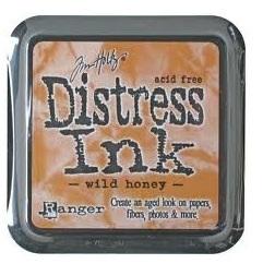 Distress ink wild honey