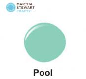 Hobbyfärg sidenmatt Pool -