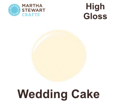 Hobbyfärg blank Wedding Cake -