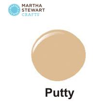 Hobbyfärg sidenmatt Putty -