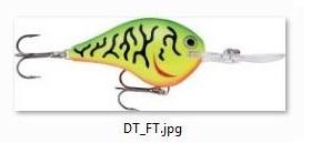 Rapala DT-4 Dives-to 5cm - Färg: FT