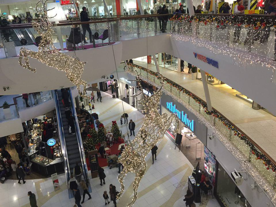 Julhandel i Nacka Forum