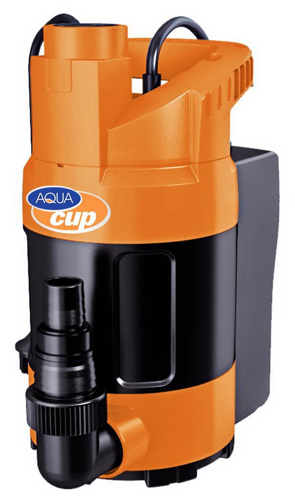 Dränkbar pump med inbyggd nivåsensor