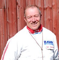 Björn Sjöström, ordförande 1984-1987.