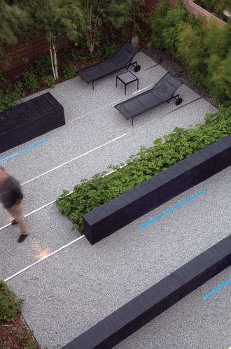 Design by landscape architect Andrea Cochran