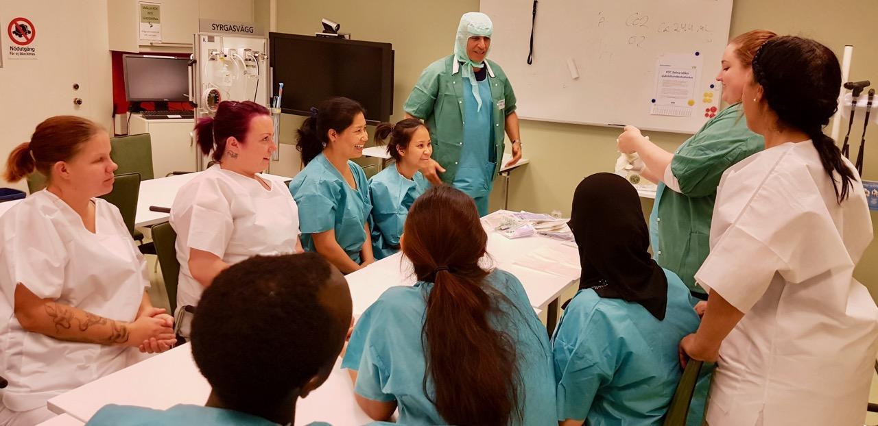 vidareutbildning undersköterska distans