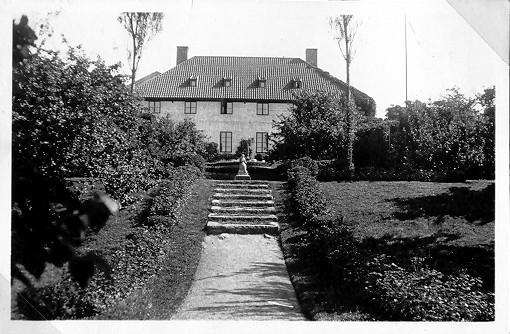 Silvénska villan. Bild från 1920-talet.