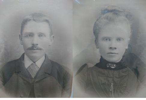 Anders och Karolina i unga år