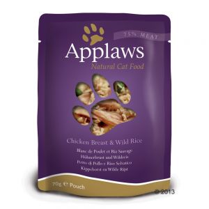Applaws Kyckling & Vildris 70 g Påse