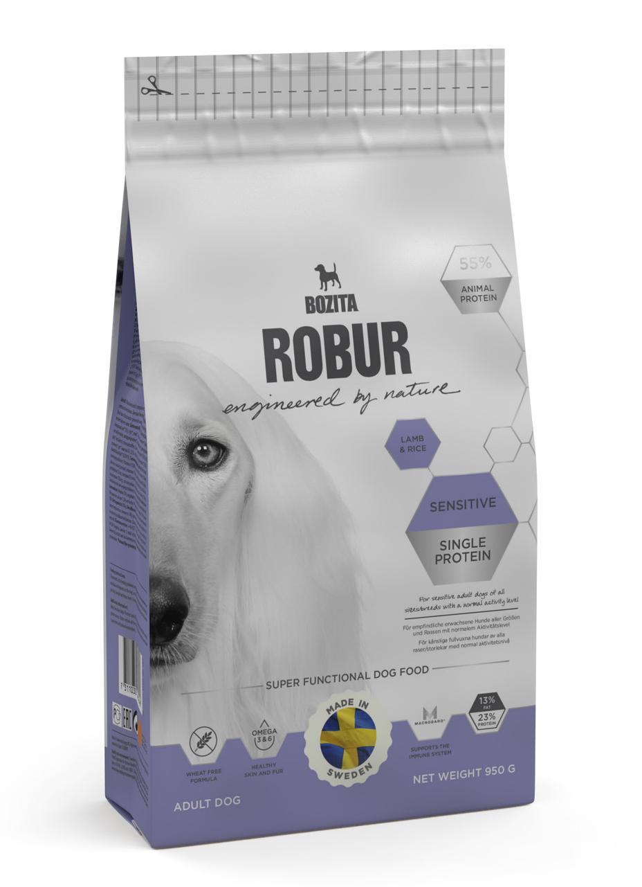 Robur Sensetive Lamm 950 g