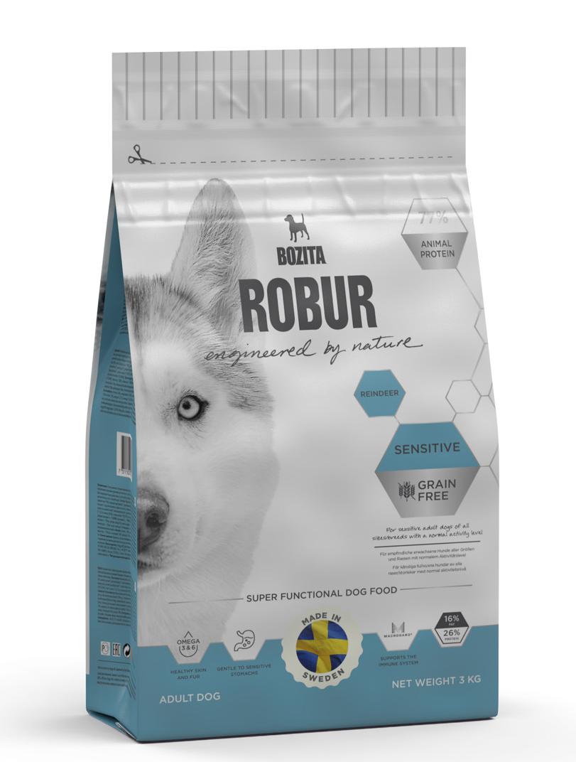 Robur Sensetive Ren 3 kg