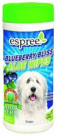 Espree Blueberry Aloe Wipes