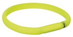 Flash light band USB Limegrön