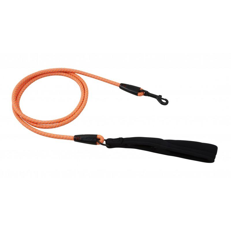 hurtta_dazzle_rope_leash_orange_8mm