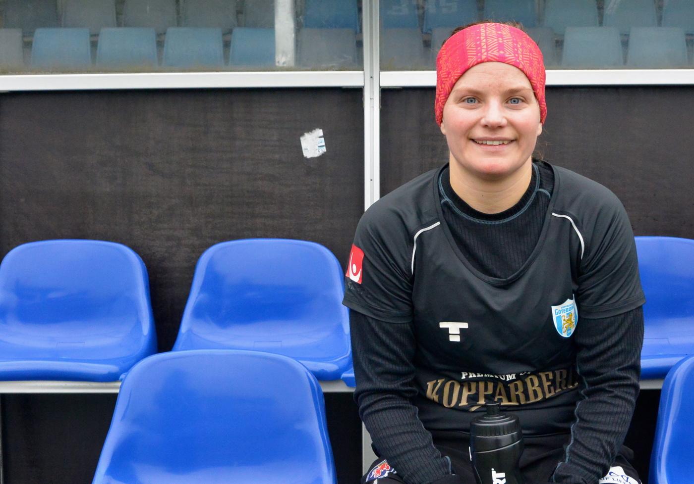 Johanna larsson glanste direkt i bastad