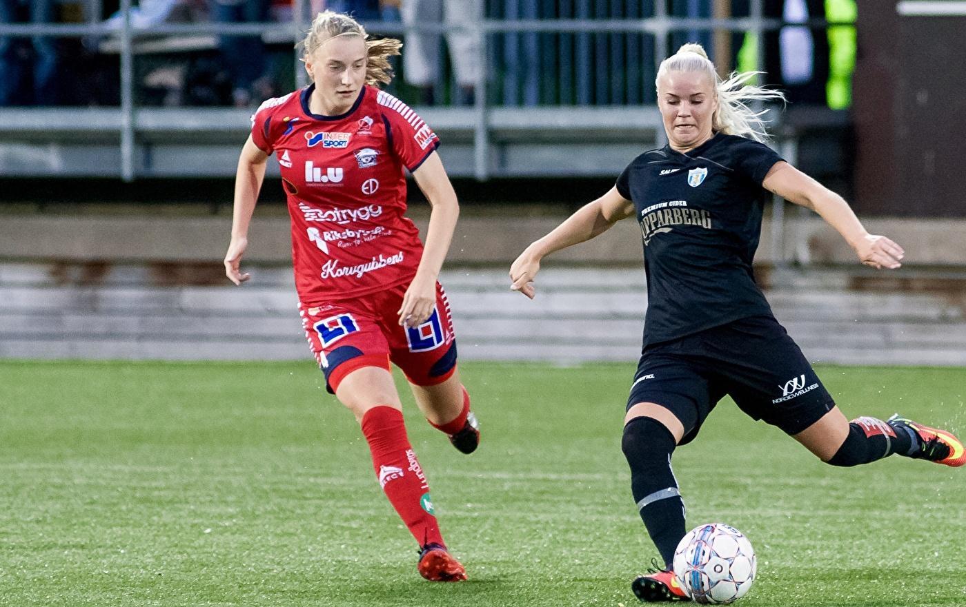 Amanda Johnsson Haahr har den allsvenska debuten avklarad. Nu hoppas hon på  spel också i c15c2dd692de0