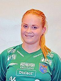 Isabel Sandström, en av många landslagsaktuella Halmianer.