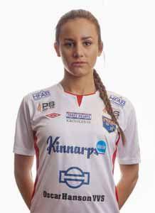 Matilda Olsson blev lördagens matchhjälte med ett mål och en assist. Foto: Anders Nilsson