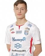 16-åriga talangen Zemri Callaku startar i söndagens match mot Torslanda. Foto: Sportfoto Syd