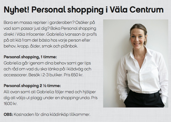 nk personal shopper